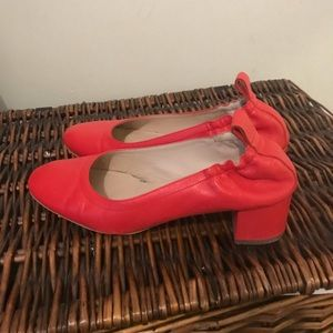 Everlane red day heel 7.5